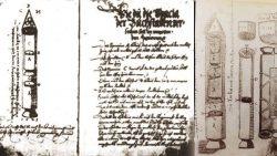 Manuscrito de Sibiu: Diseños de cohetes con combustible líquido en el siglo XVI