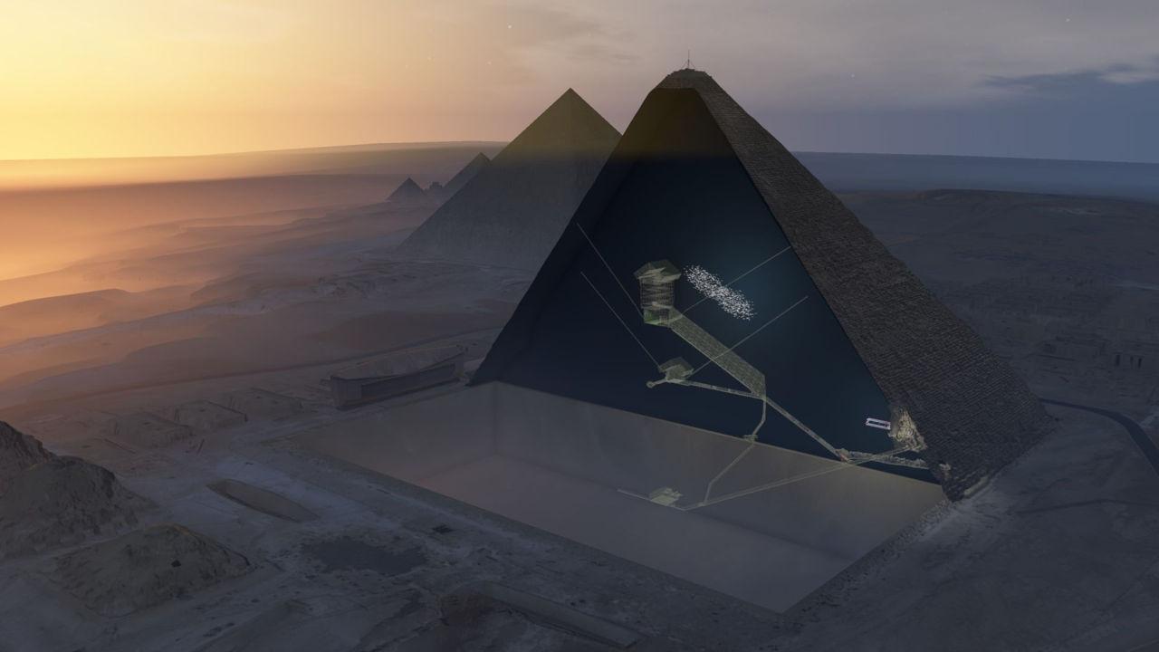Egipto tenía conocimiento de «numerosos huecos» dentro de las tres pirámides de Giza