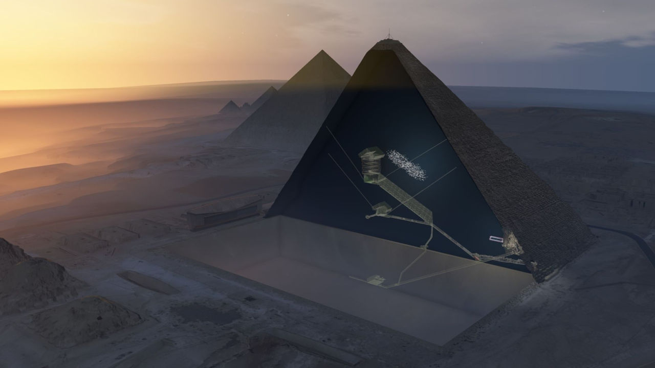 Científicos descubren un agujero gigante en la Gran Pirámide de Giza
