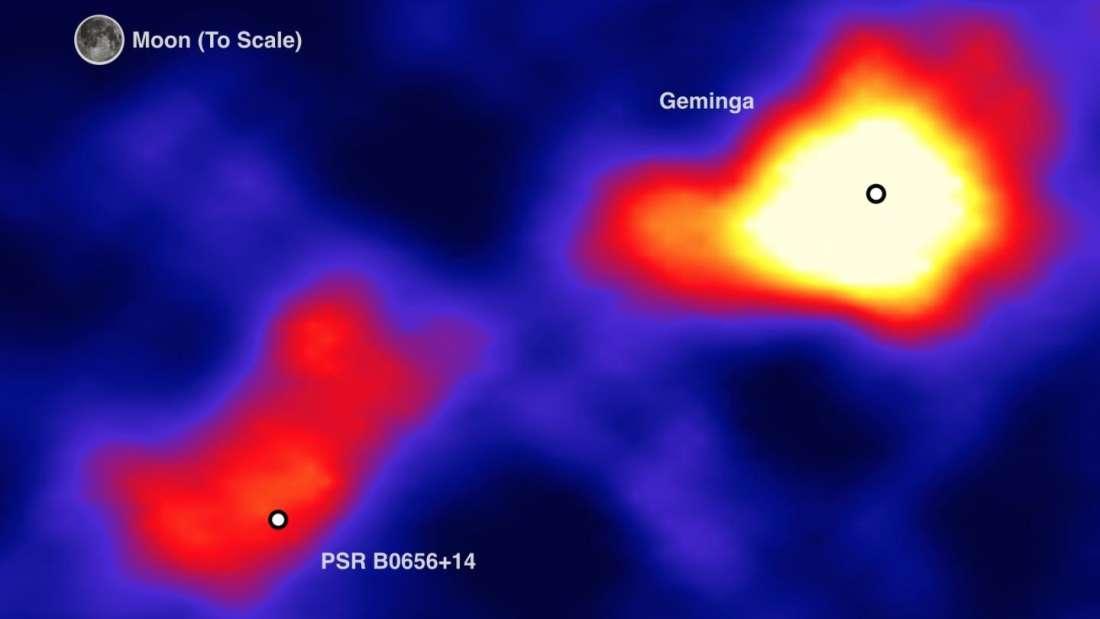 Los púlsares más cercanos no pueden emitir la antimateria que nos golpea