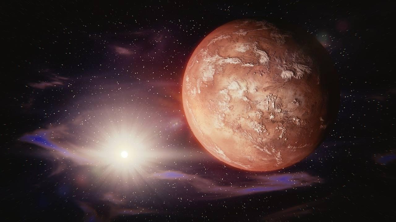 En Marte se han hecho evidentes las huellas de una antigua era de hielo
