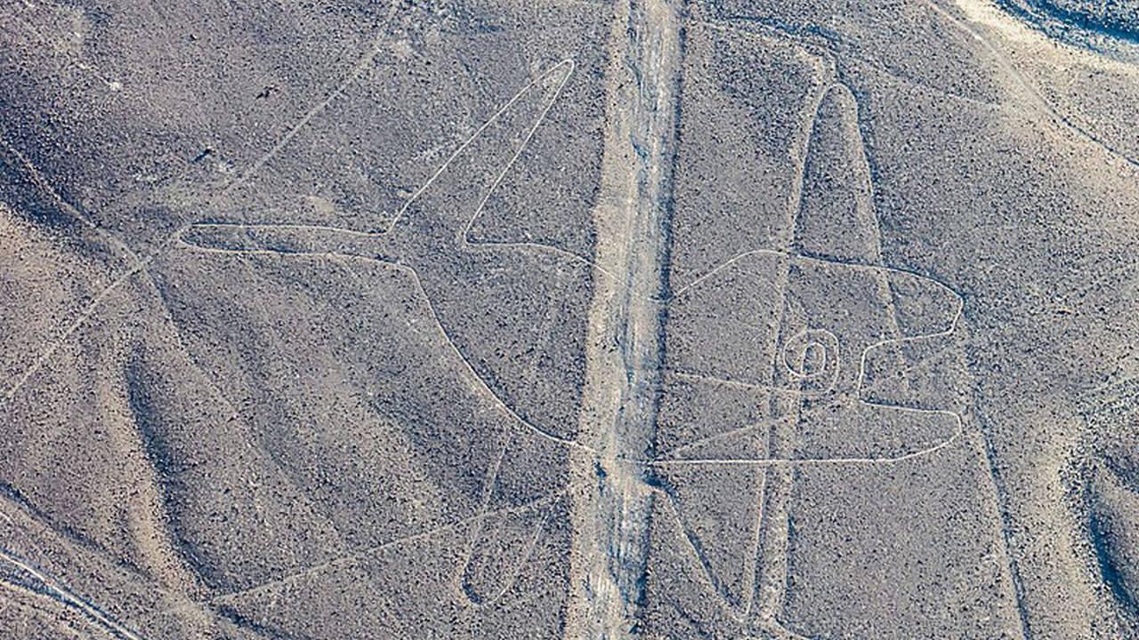 Recuperan un enigmático y antiguo geoglifo en Líneas de Palpa en Perú