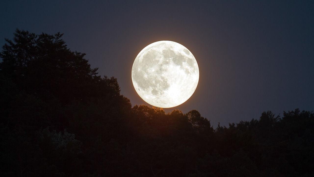 La luna llena m s grande del a o dar un espect culo en el for Cambios de luna 2017