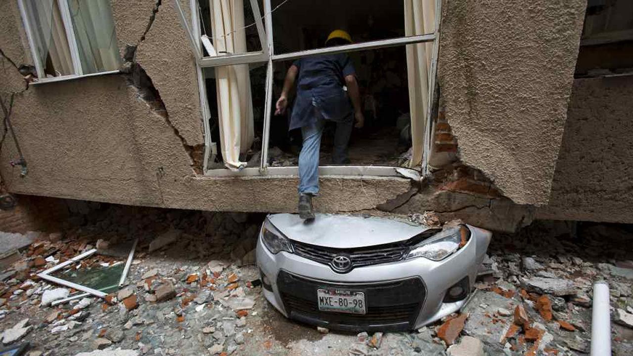CENAPRED plantea tres escenarios de posibles terremotos en México