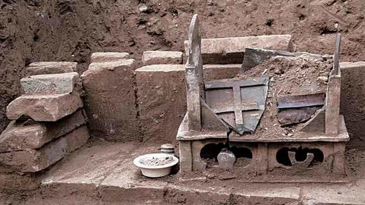 Restos ocultos de «Buda» son descubiertos en aldea de China
