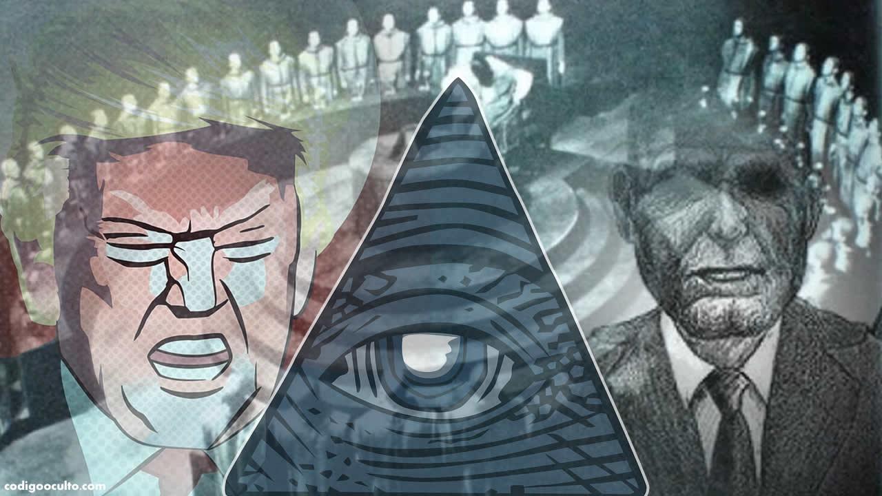 Trump, los Illuminati y los Hombres de Negro