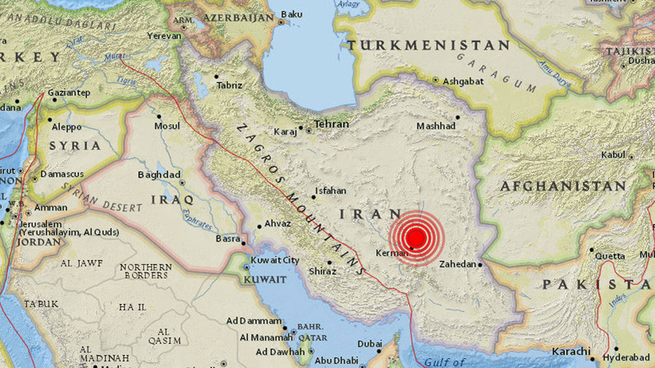 Fuertes terremotos simultáneos de 5.0 y 6.0 en Irán