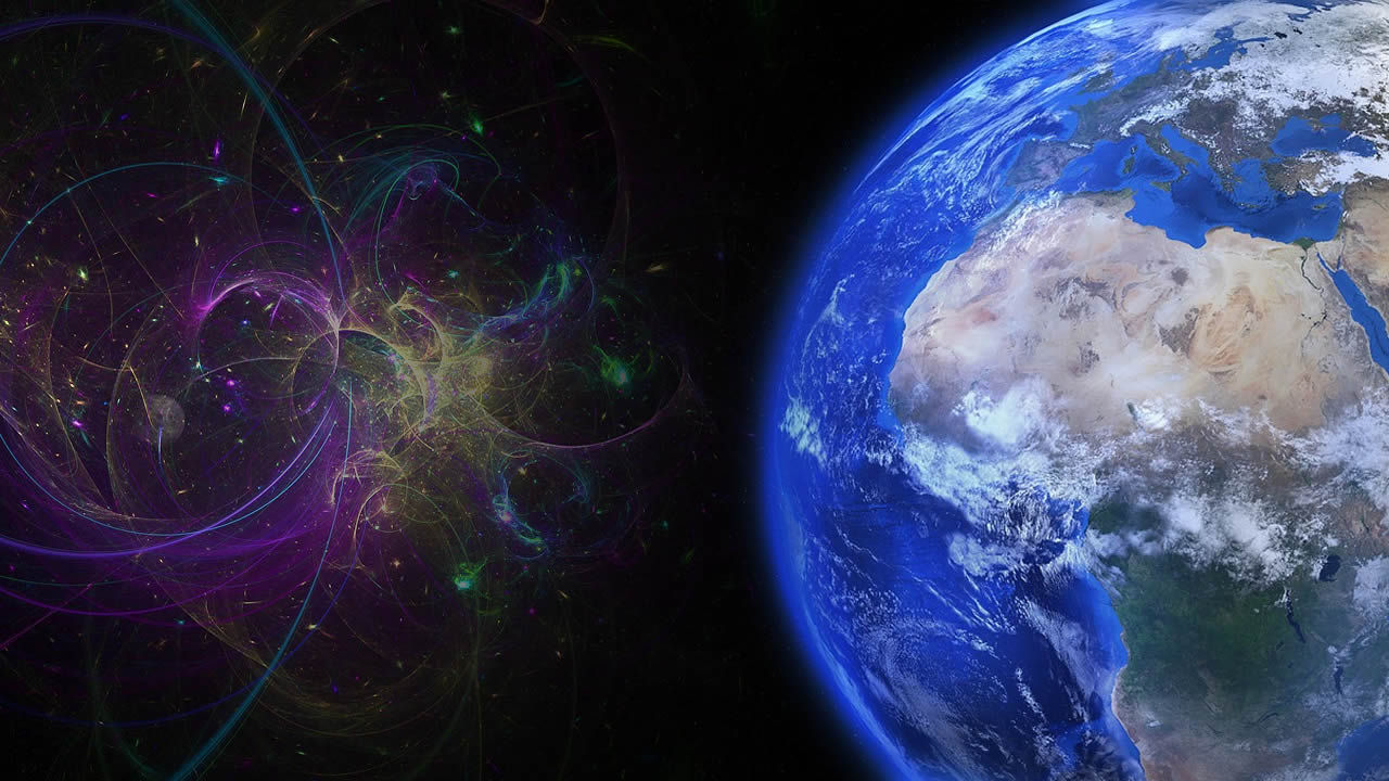 La Tierra es constantemente golpeada por antimateria