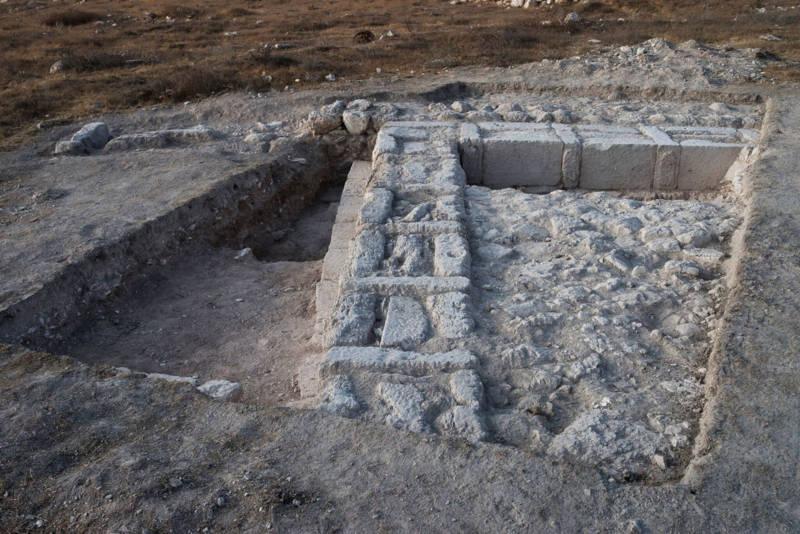 Estos restos indican que se trataba posiblemente de un palacio