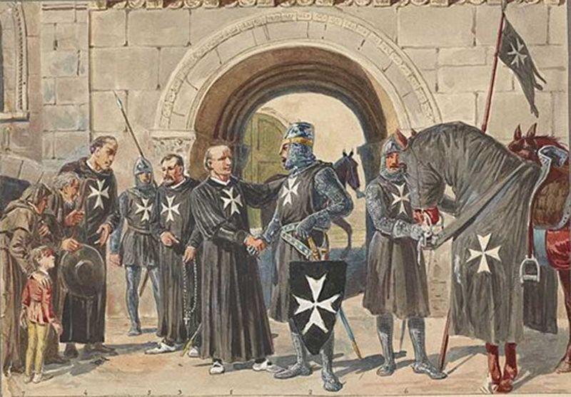 Caballeros de Malta, 1048-1799