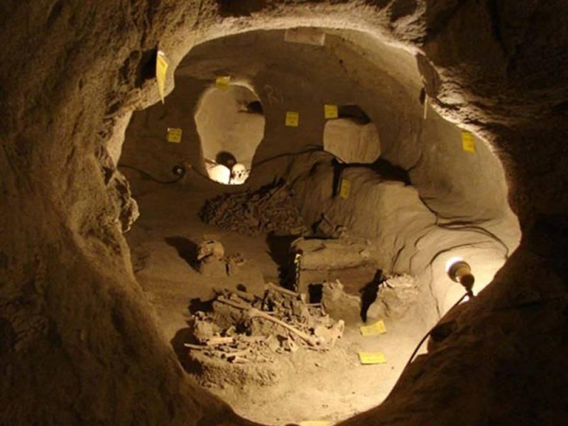 Se descubrieron restos humanos en la ciudad subterránea de Nushabad, Irán
