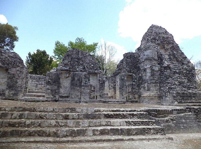 Ruinas mayas de Chicanná, México