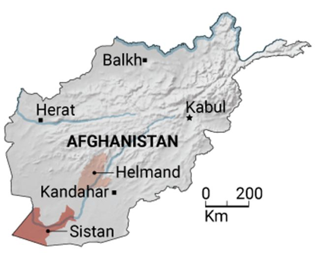 Mapeo de las riquezas arqueológicas de Afganistán. Para catalogar sitios antiguos, los arqueólogos están reuniendo datos de imágenes de teledetección, por ejemplo de la ciudad de Balkh, e información de trabajos de campo de décadas en las áreas de Sistan y Helmand