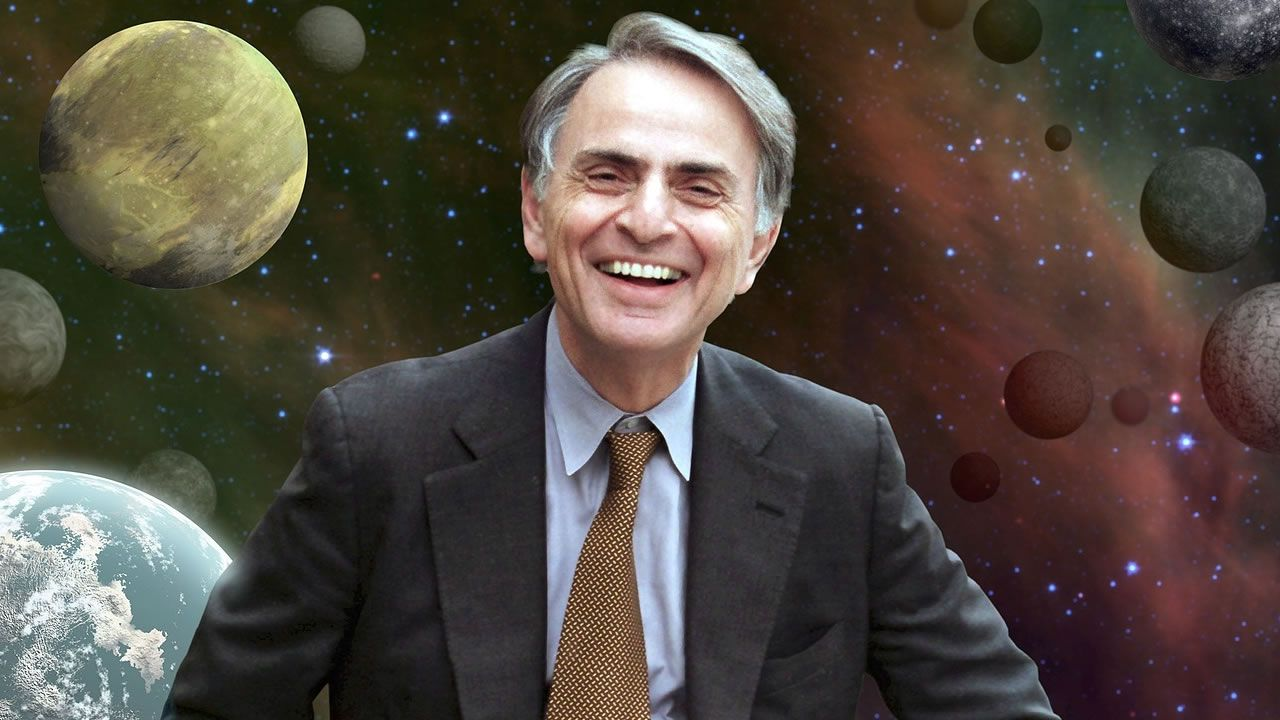 Carl Sagan:«Si estamos solos en el universo, seguro sería una terrible pérdida de espacio»