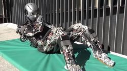 Científicos construyen un robot que suda mientras se ejercita