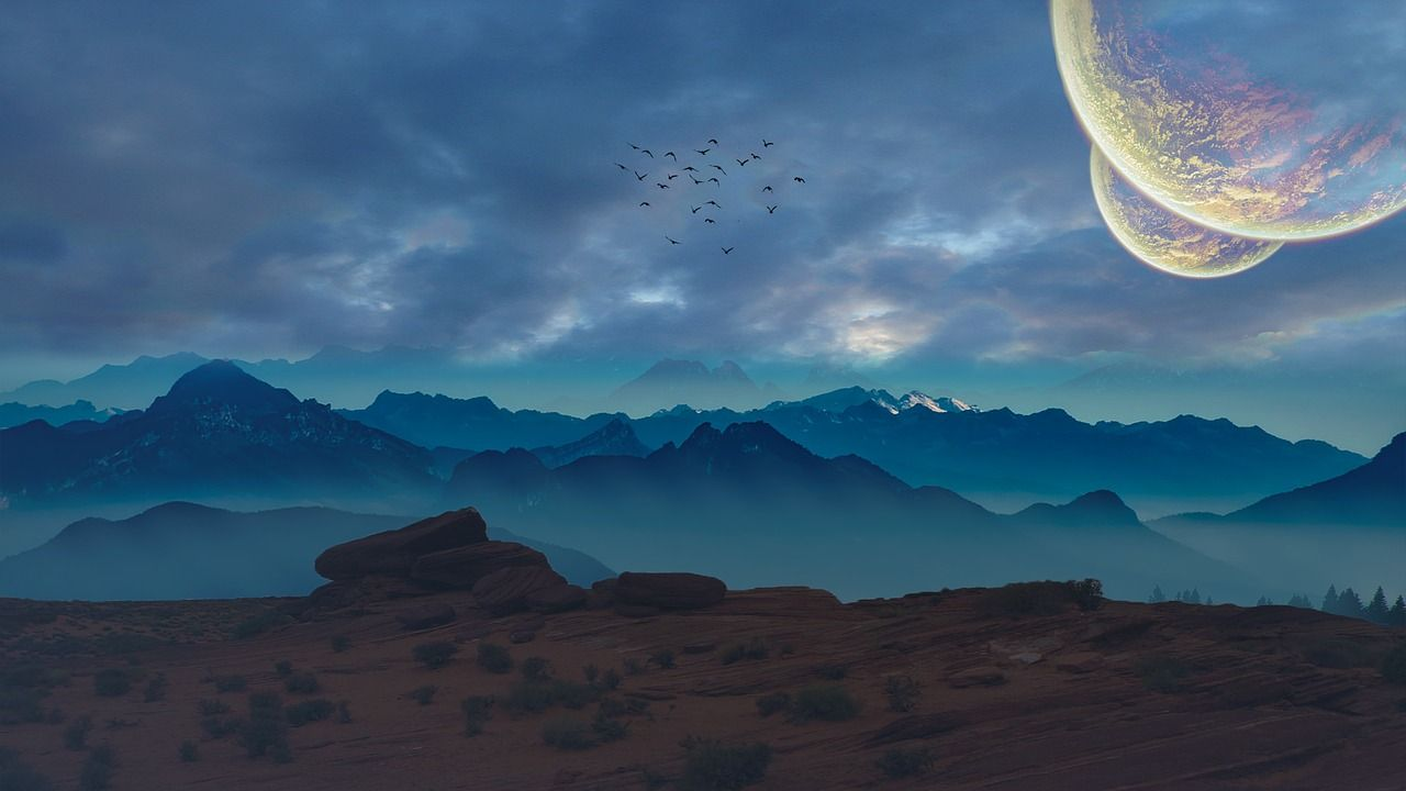 Colisiones de polvo podrían transportar vida microbiana a otros planetas