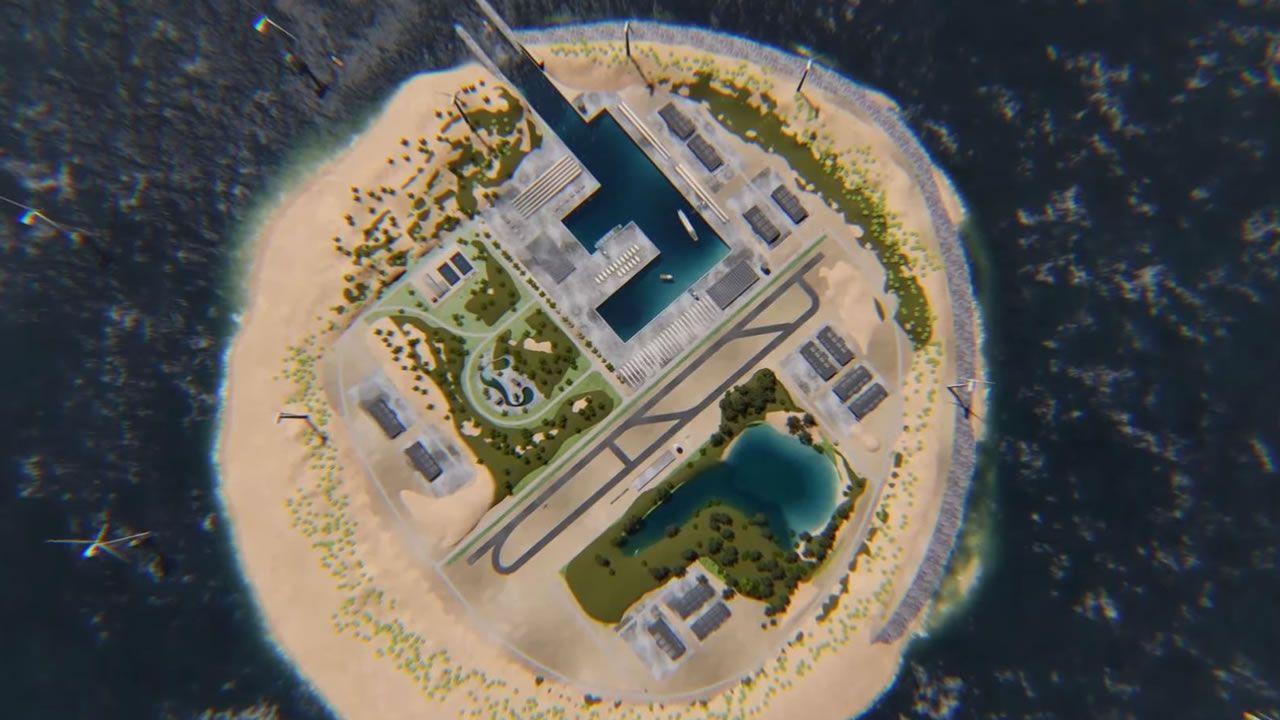 Construirán isla artificial para obtener energía eólica