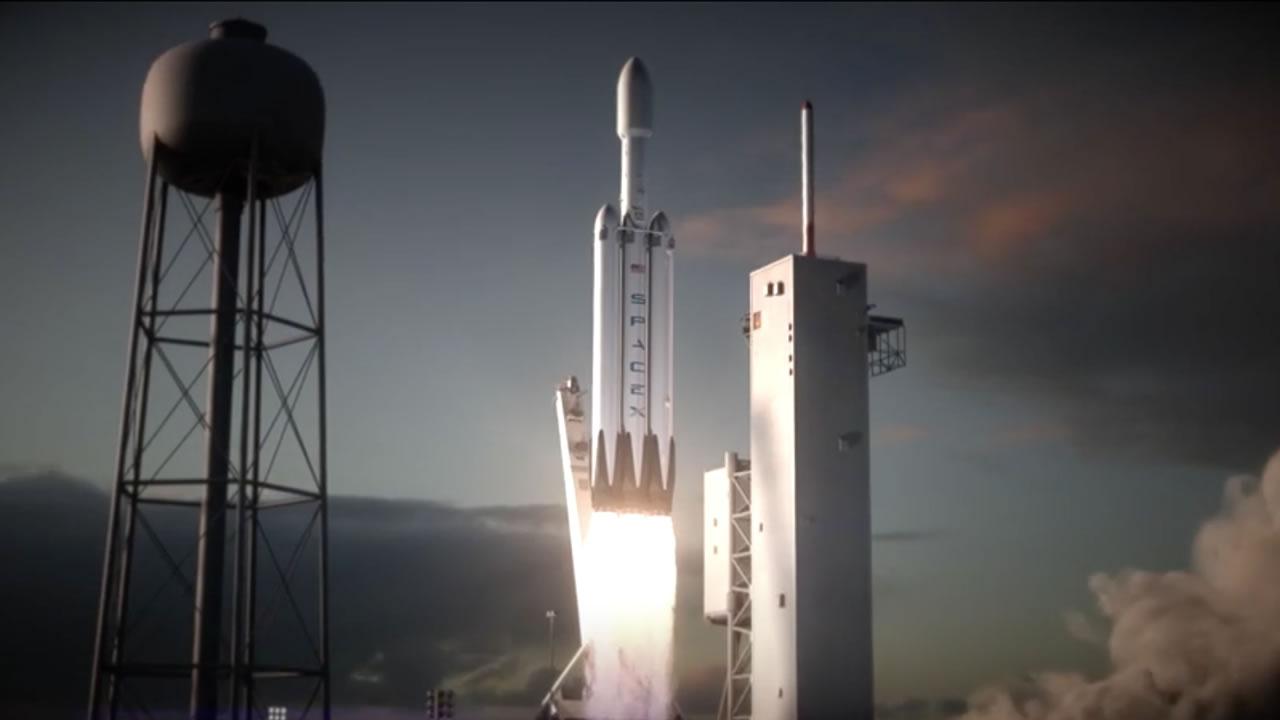 Elon Musk: «Lanzaré un Tesla Roadster rojo a Marte en enero de 2018»