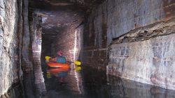 Hallan un sistema de cuevas subterráneas de la Edad de Hielo en Canadá
