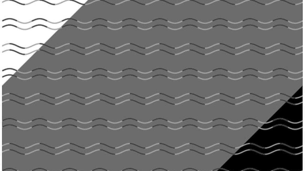 Esta nueva ilusión óptica te dirá si tienes ceguera de curvatura