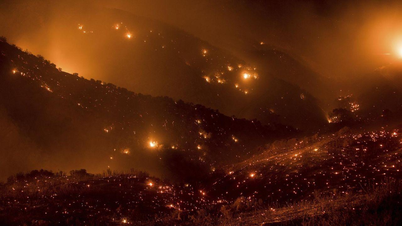 Gobernador de California culpa a cambio climático de devastadores incendios