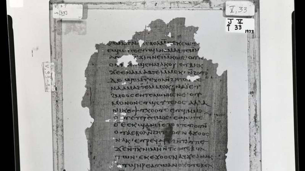 Hallan texto con revelaciones de Jesús a su hermano Santiago, no presentes en la Biblia