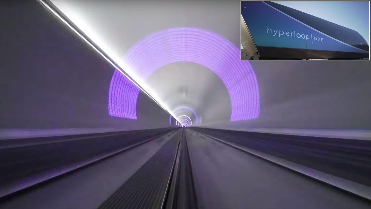¿Quieres ver a Hyperloop a cientos de kilómetros por hora? (Vídeo)