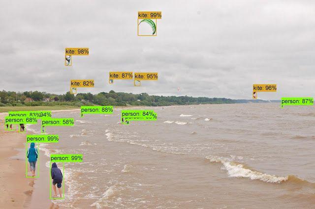 Ejemplo de detección de objetos usando Faster-RCNN con NASNet