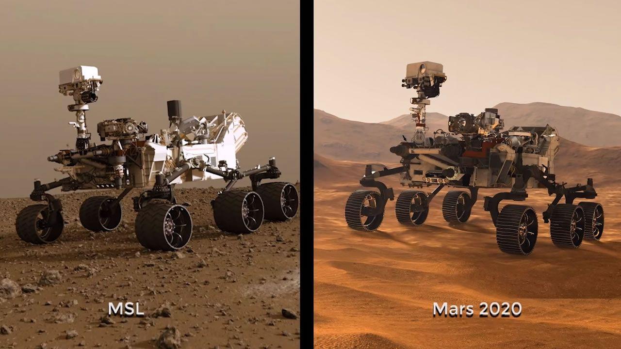 Mars 2020: NASA planea enviar un nuevo rover a Marte