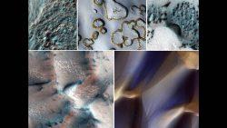 Marte se cubre de nieve en espectaculares fotos de NASA