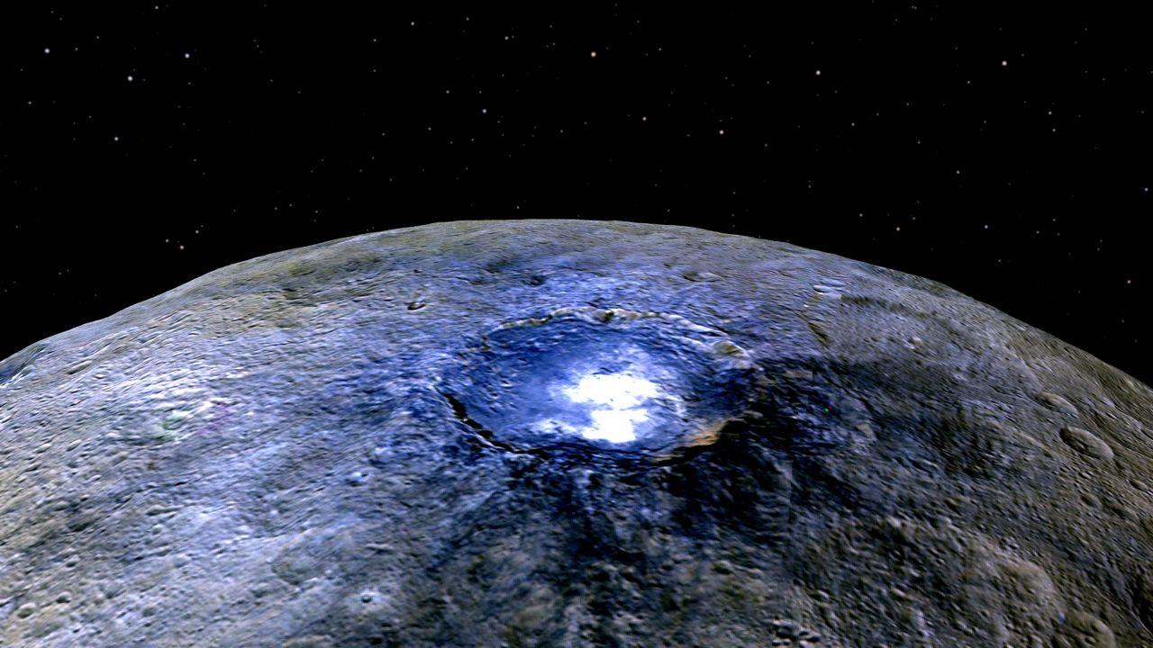 NASA planea buscar vida extraterrestre en Ceres, el enigmático planeta enano