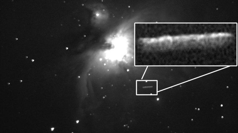 Supuesta nave alienígena observada cerca de la Nebulosa de Orión