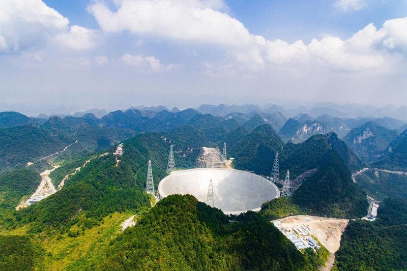 El nuevo plato de radio de China fue creado a medida para escuchar un mensaje extraterrestre
