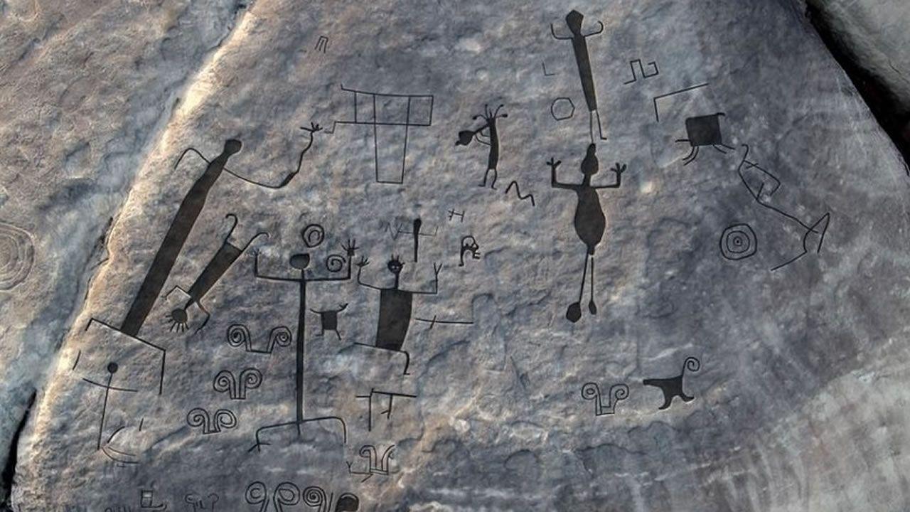 Revelan petroglifos de 2.000 años de antigüedad en Venezuela (Fotografía)
