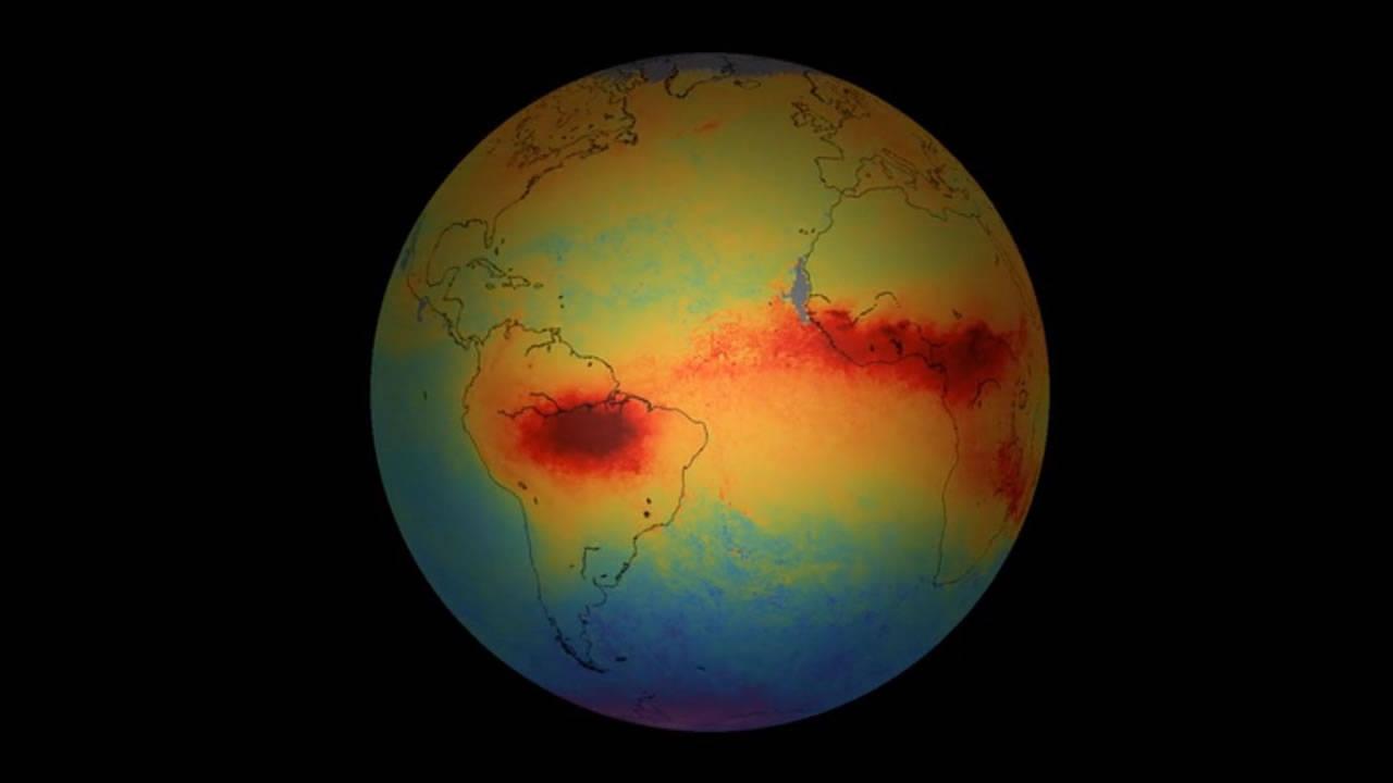 Satélite de ESA capta preocupantes imágenes de la contaminación del aire
