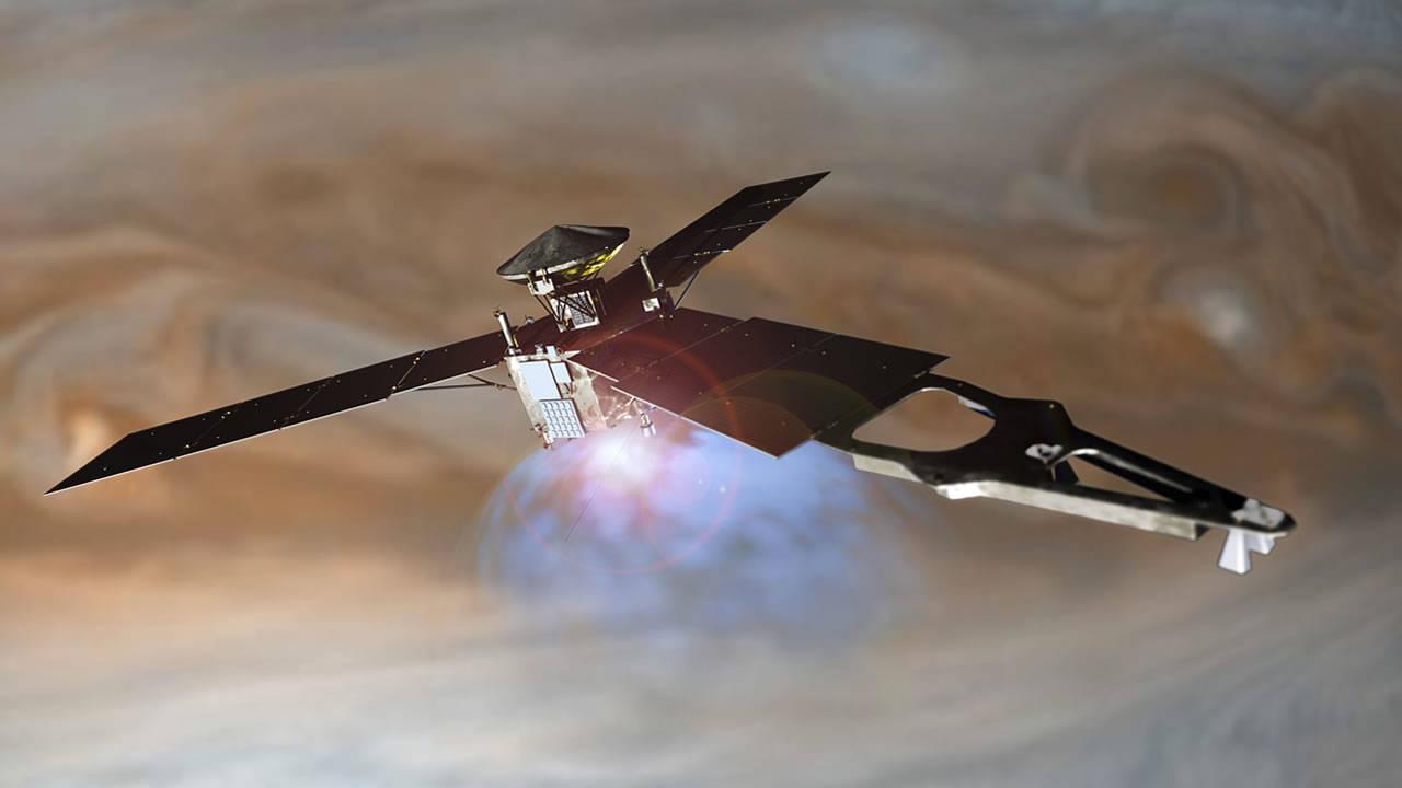 Investigadores: «La sonda espacial Juno no está donde debería estar, y no es la primera vez»