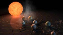 Vida extraterrestre en TRAPPIST-1: Dos planetas podrían conservar sus atmósferas
