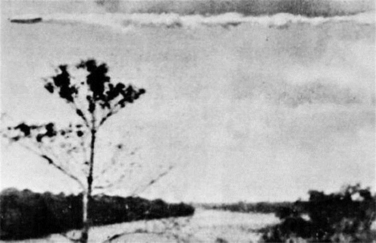 OVNI fotografiado el 19, de julio de 1952 en la localidad de Puerto Maldonado, Perú