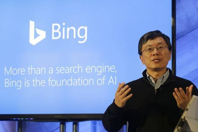 Harry Shum, Executive Vice President of Artificial Intelligence & Research en Microsoft