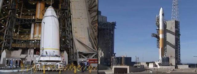 Cohete lanzó al satélite NROL-47 al espacio