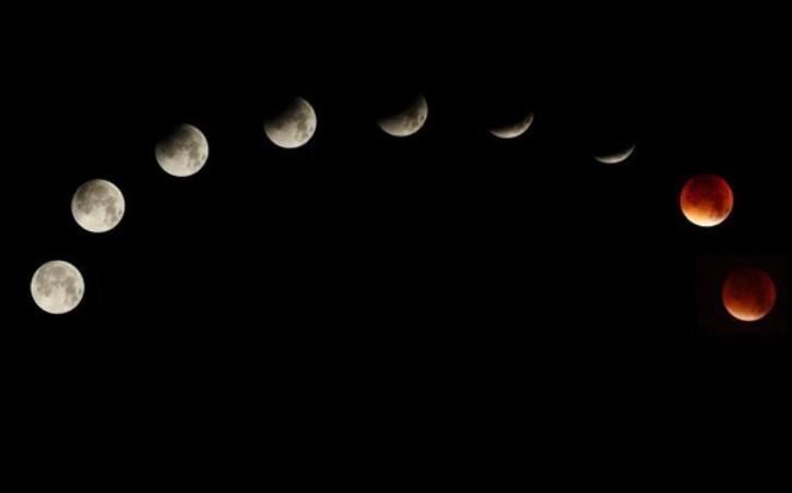 El camino de la luna de sangre