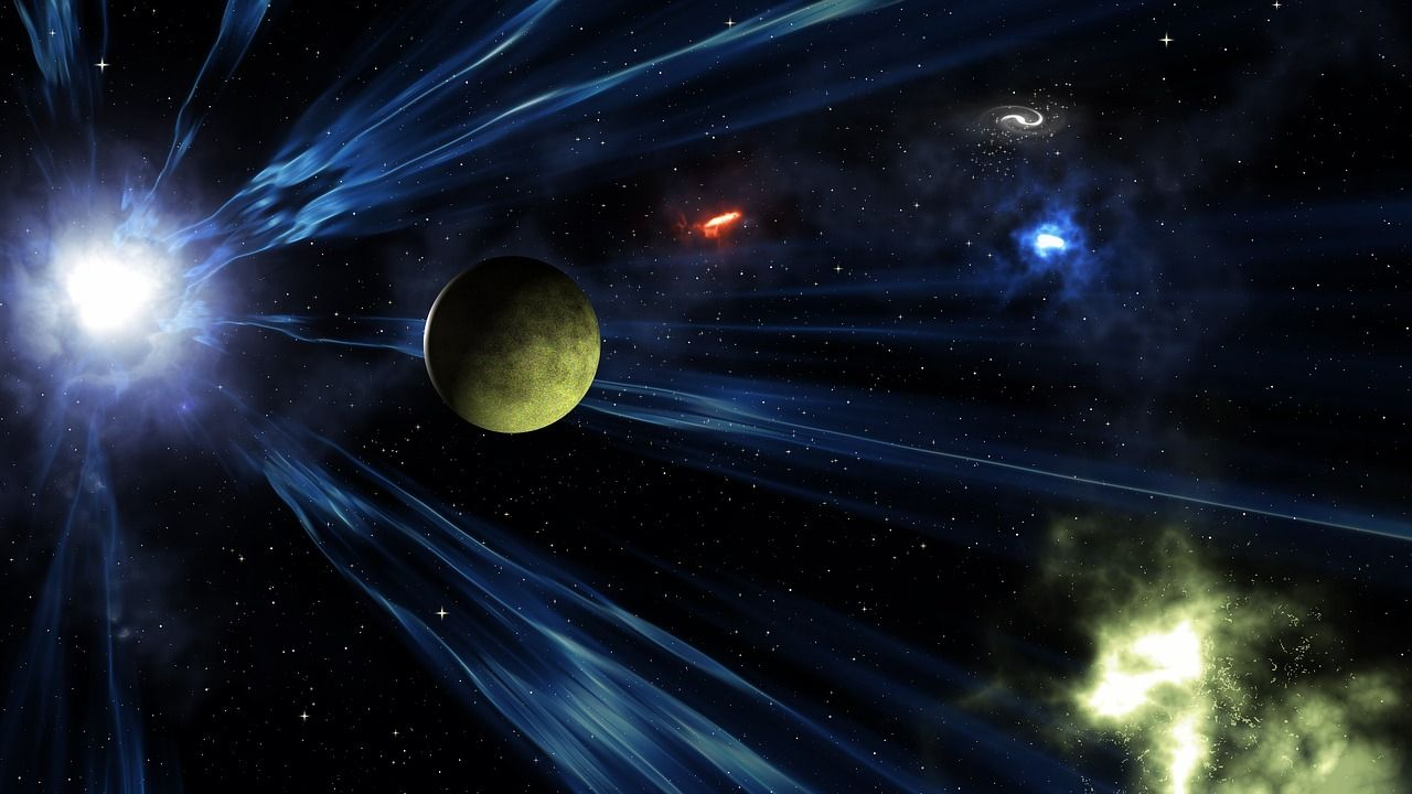 Agujero negro supermasivo lanza dos gigantescos «eructos» en el espacio