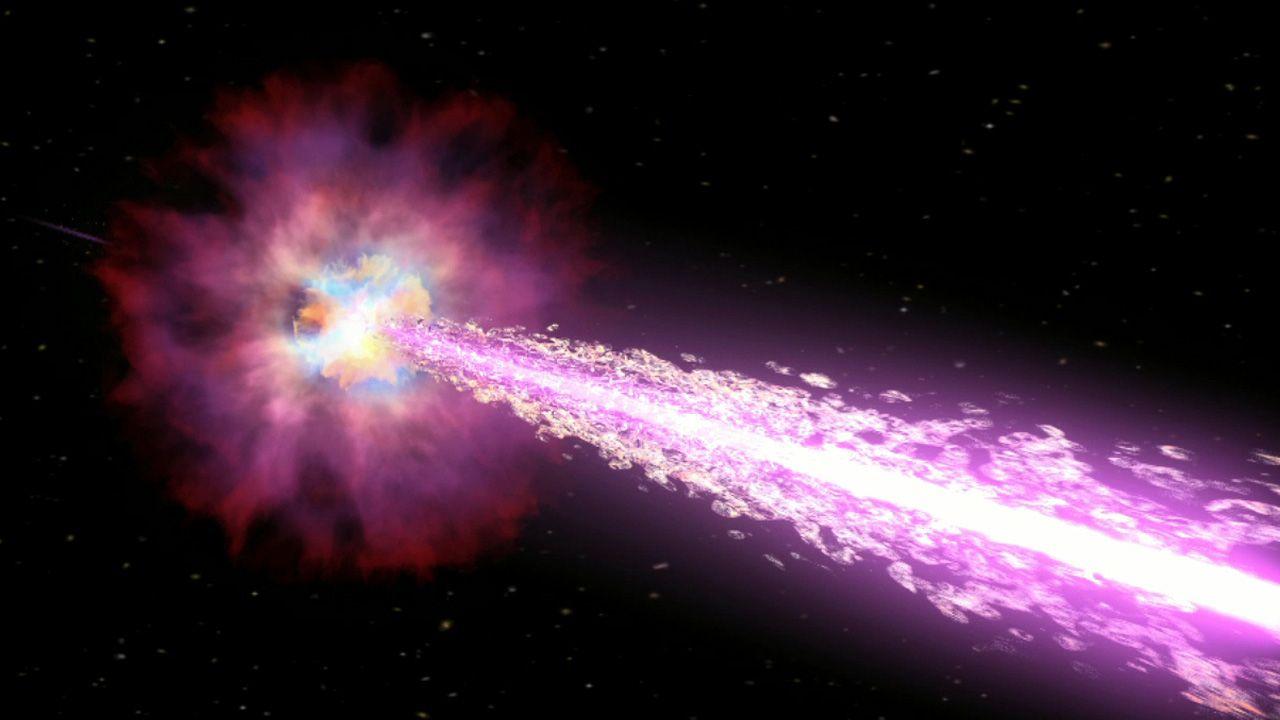 Científicos crean un estallido de rayos gamma en laboratorio por primera vez