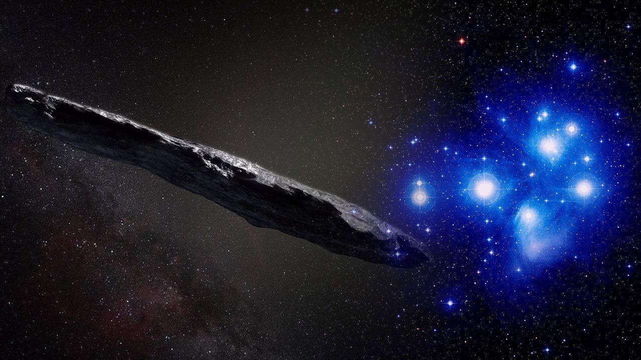 Científicos determinan que Oumuamua proviene de las Pléyades