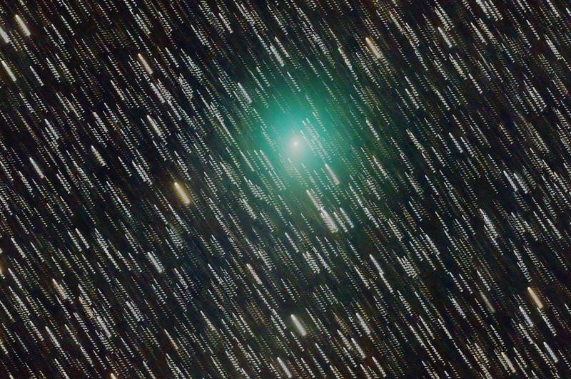 Cometa 41P/Tuttle-Giacobini-Kresak fotografiado el 16 de marzo de 2017