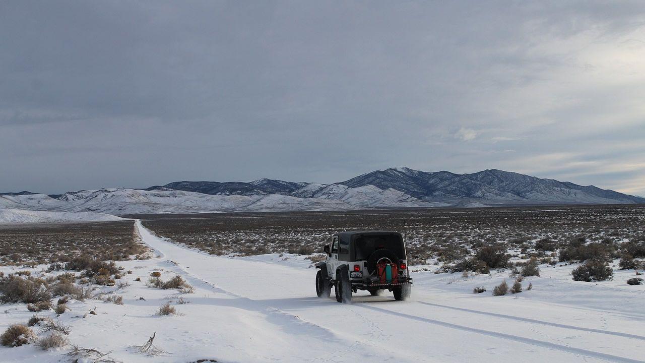 Desierto del Sahara se cubre de nieve