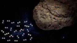 Encuentran agua y compuestos orgánicos dentro de meteorito que impactó la Tierra
