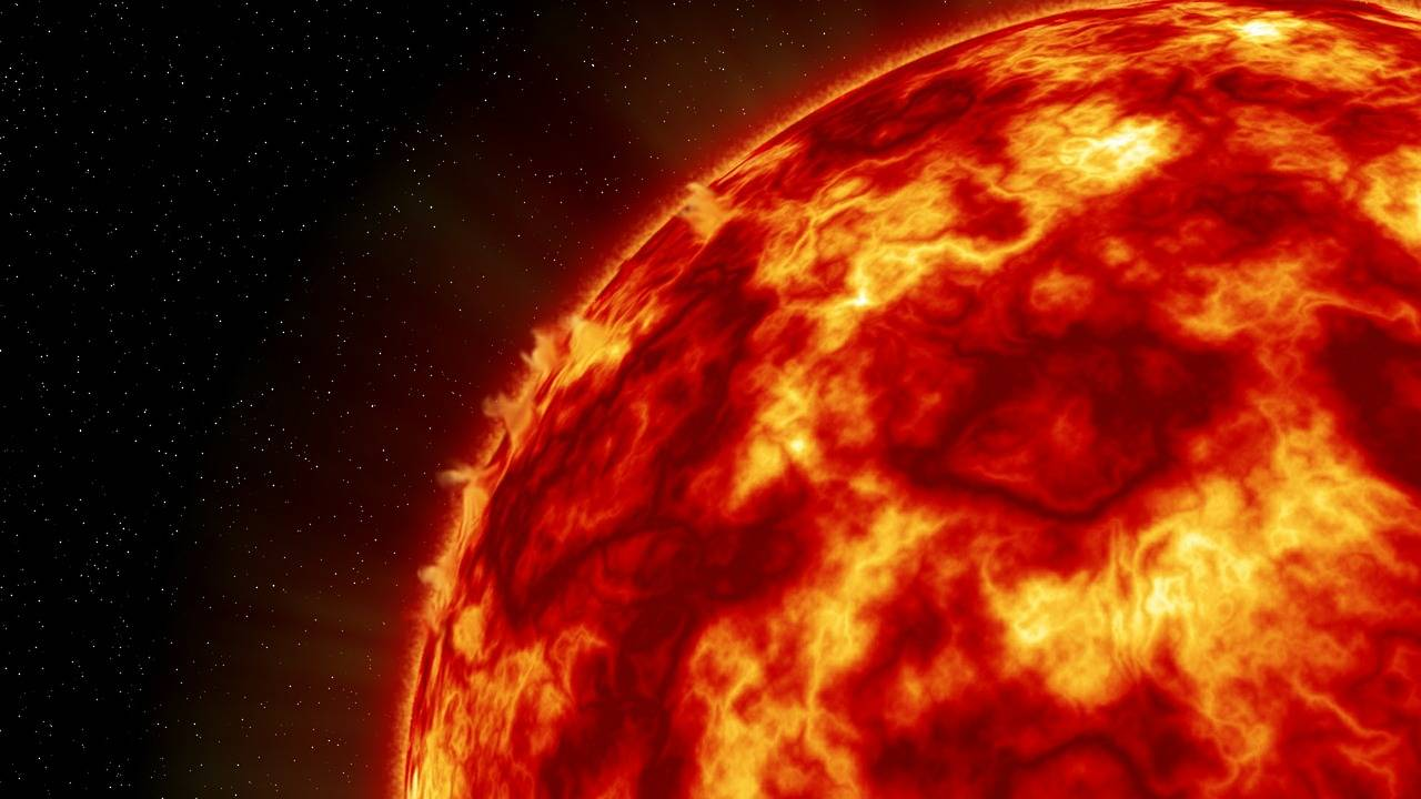 Estallidos solares pudieron haber originado la vida en la Tierra y Marte