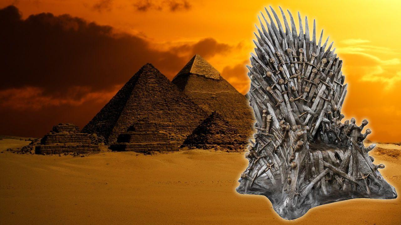 Resultado de imagen de ¿Hay un trono de hierro extraterrestre en la Pirámide de Keops?