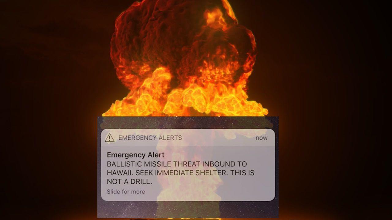 Residentes de Hawaii reciben alerta falsa de ataque de misil balístico
